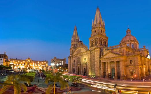 Cathedral「Guadalajara Cathedral Mexico」:スマホ壁紙(7)