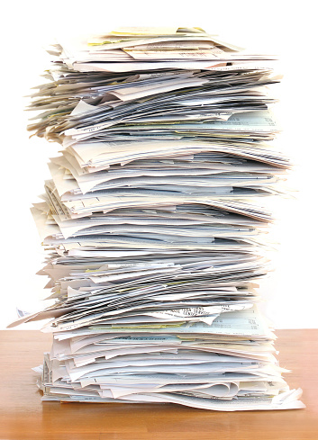 Legal Document「Huge Stack of Papers」:スマホ壁紙(4)