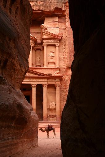 Ancient「Jordan, Petra, part of Al Khazneh」:スマホ壁紙(14)