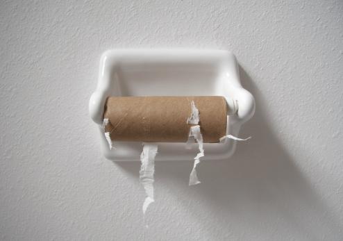 Finishing「no toilet paper」:スマホ壁紙(1)