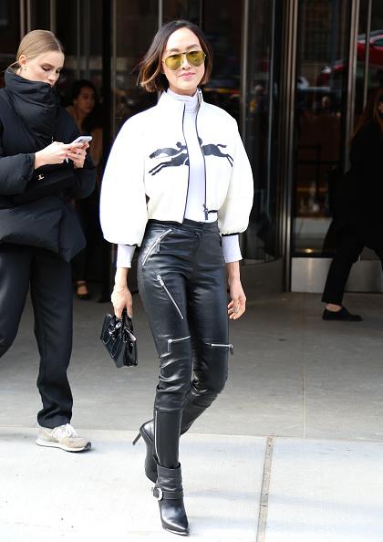 Ankle Boot「Street Style - Day 3 - New York Fashion Week February 2020」:写真・画像(10)[壁紙.com]
