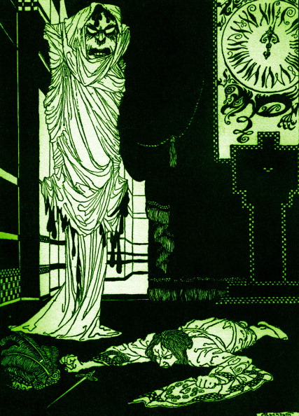 Horror「'The  Masque of the Red Death' by Edgar Allan Poe」:写真・画像(18)[壁紙.com]