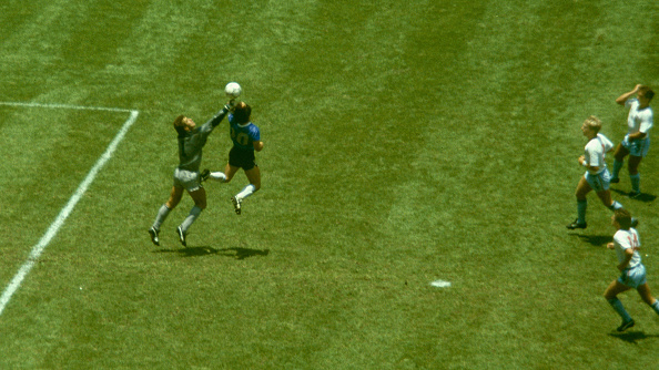 イングランド「Diego Maradona Hand of God Goal Argentina v England 1986」:写真・画像(0)[壁紙.com]