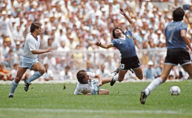 1986 FIFA World Cup Quarter Final Argentina v England:ニュース(壁紙.com)
