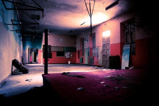 The Past「Burnt Boxing gym」:スマホ壁紙(16)
