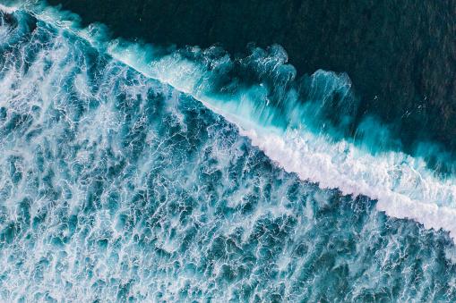 Bali「Ocean surf from above」:スマホ壁紙(10)