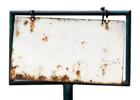 Rusty「Blank rusty sign」:スマホ壁紙(7)
