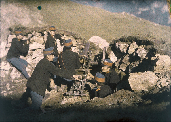 Austrian Culture「World War One: Austrian Soldiers (Mountain Infantry?) In The Mountains. About 1915. Autochrome Lumière」:写真・画像(14)[壁紙.com]