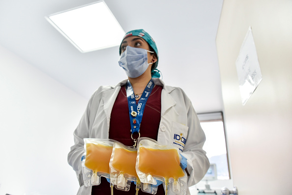 Recovery「Colombian Scientists Research Advancements On Convalescent Plasma For COVID-19 Treatment」:写真・画像(2)[壁紙.com]