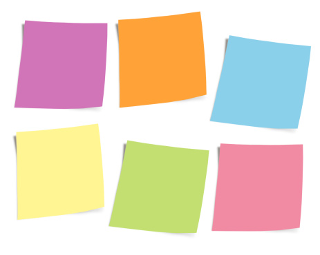 Adhesive Note「Postits notes」:スマホ壁紙(15)