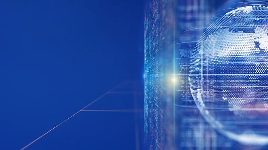 Number「Digital concept networking and big data」:スマホ壁紙(15)