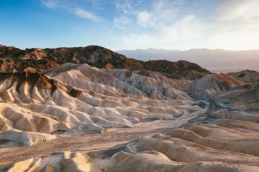 Dramatic Landscape「Zabriskie point at sunset, Death valley, USA」:スマホ壁紙(6)