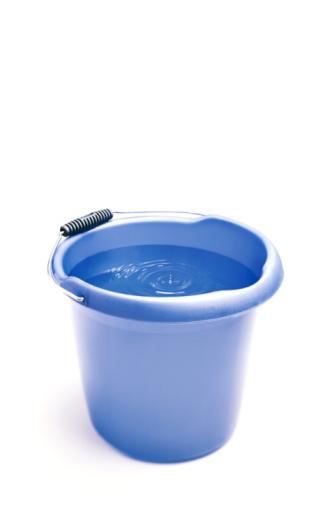Leaking「bucket catching dripping water from a leak.」:スマホ壁紙(6)