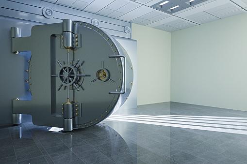 Digital Composite「Light from open vault door」:スマホ壁紙(4)