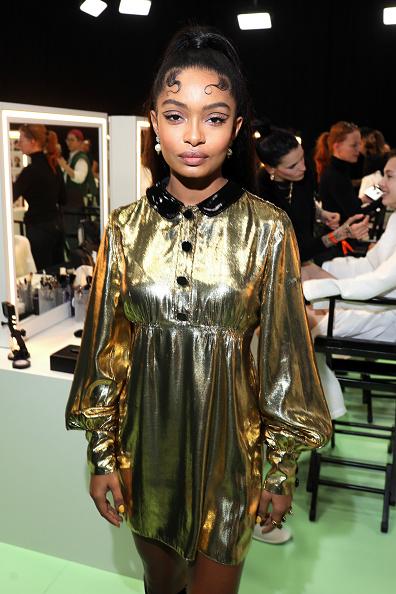 Baby Doll Dress「Gucci - Arrivals at Backstage - Milan Fashion Week Fall/Winter 2020/21」:写真・画像(19)[壁紙.com]