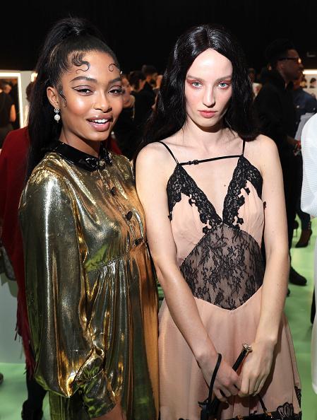 Baby Doll Dress「Gucci - Arrivals at Backstage - Milan Fashion Week Fall/Winter 2020/21」:写真・画像(17)[壁紙.com]