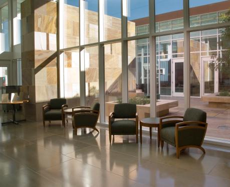Postmodern「Hospital or Hotel Atrium, Office Park」:スマホ壁紙(5)