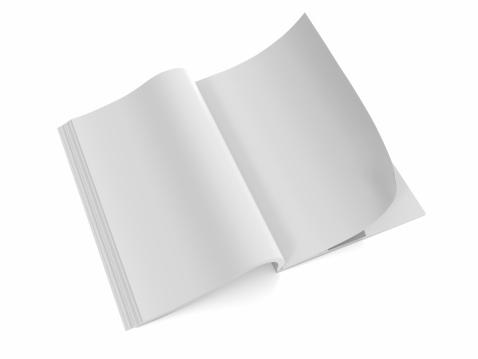 Hardcover Book「Opened the blank book  magazine 1」:スマホ壁紙(19)