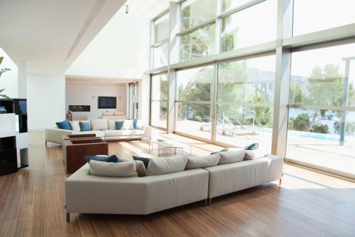 Simplicity「Open living space in modern house」:スマホ壁紙(19)