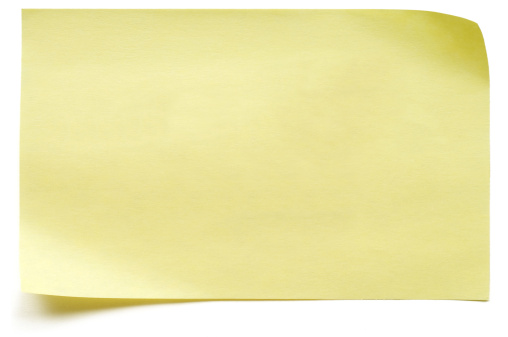 Adhesive Note「Yellow isolated Post-it Note」:スマホ壁紙(0)