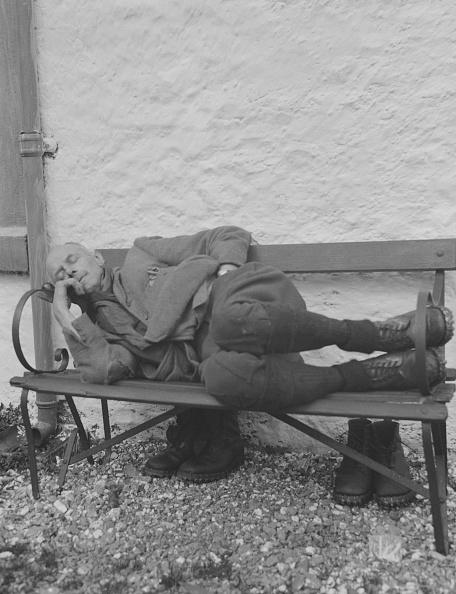 Bench「Old Man Asleep On Bench」:写真・画像(11)[壁紙.com]