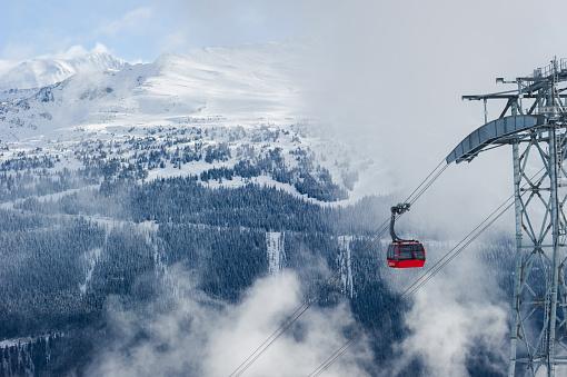 Ski Resort「Whistler's Peak to Peak Gondola」:スマホ壁紙(3)