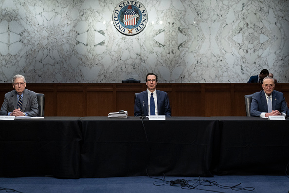 Capitol Hill「Senate In Session To Work On Stimulus Package As Coronavirus Takes Toll On Economy」:写真・画像(7)[壁紙.com]
