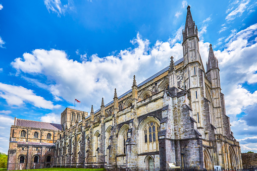 Cathedral「Winchester Gothic Cathedral, England」:スマホ壁紙(7)