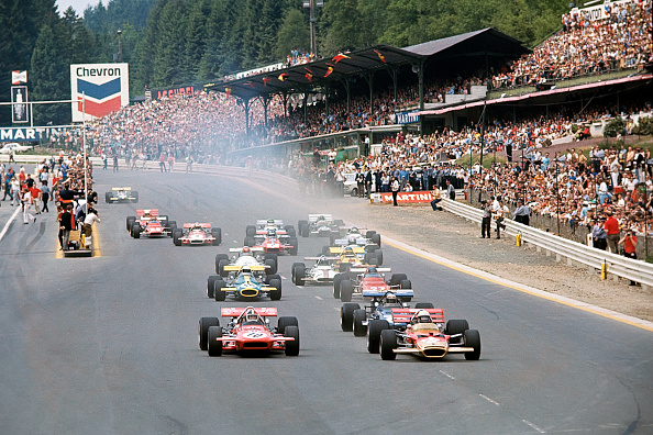 Spa「Jochen Rindt, Chris Amon, Jackie Stewart, Jack Brabham, Jacky Ickx, Grand Prix Of Belgium」:写真・画像(18)[壁紙.com]