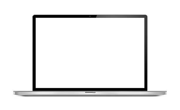 Front View of Modern Laptop:スマホ壁紙(壁紙.com)