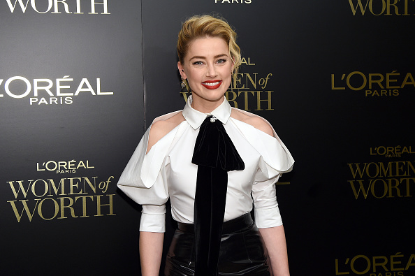 アンバー・ハード「14th Annual L'Oréal Paris Women Of Worth Awards」:写真・画像(14)[壁紙.com]