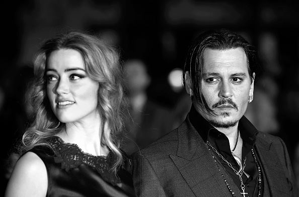 "アンバー・ハード「""Black Mass"" - Virgin Atlantic Gala - BFI London Film Festival」:写真・画像(7)[壁紙.com]"