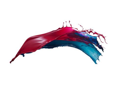 Freedom「Splashing of the color paint」:スマホ壁紙(19)