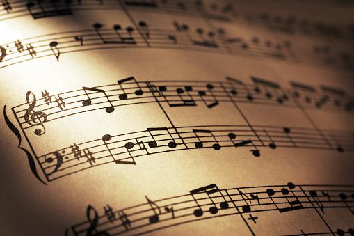 Classical Style「Sheet Music」:スマホ壁紙(10)