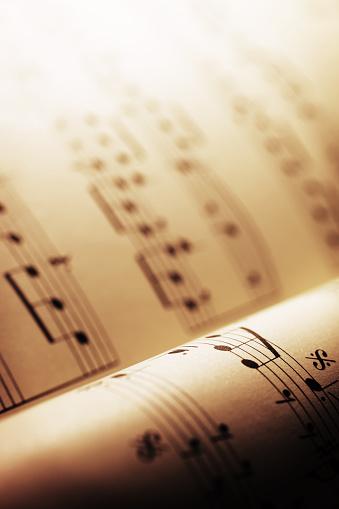 Printout「Sheet Music」:スマホ壁紙(15)