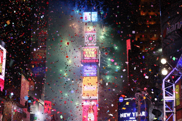New Year「New Year's Eve 2014 In Times Square」:写真・画像(10)[壁紙.com]