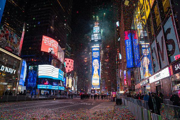 New Year's Eve「Changes Made To New Years Eve In Times Square Amid COVID-19 Pandemic」:写真・画像(15)[壁紙.com]