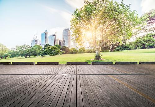 Boardwalk「central business district of Sydney at daytime」:スマホ壁紙(1)