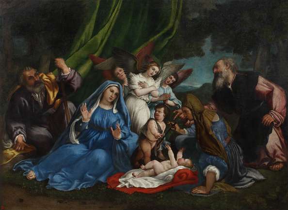 Painting - Activity「The Adoration Of The Christ Child」:写真・画像(8)[壁紙.com]