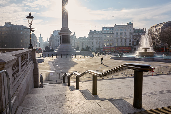 Famous Place「London Streets Empty During Third Coronavirus Lockdown」:写真・画像(10)[壁紙.com]