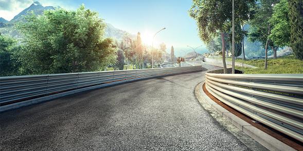 Motorsport「Mountain Highway Track」:スマホ壁紙(11)