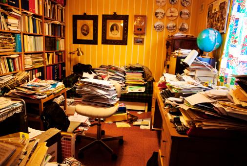 Living Room「Private study」:スマホ壁紙(3)