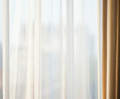 光「ネットのカーテンの背景」:スマホ壁紙(19)