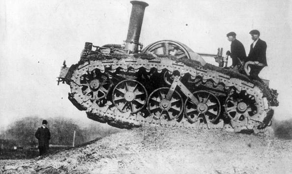 World War I「Caterpillar Tractor」:写真・画像(17)[壁紙.com]