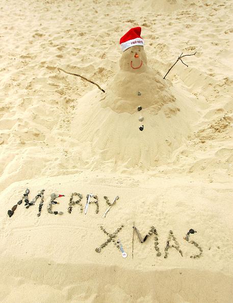 snowman「Christmas on Bondi Beach」:写真・画像(3)[壁紙.com]