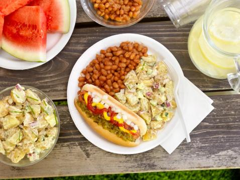 Bun - Bread「BBQ Hotdog with Lemonade」:スマホ壁紙(19)