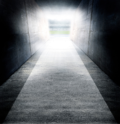 Tunnel「Sports Stadium Tunnel」:スマホ壁紙(4)