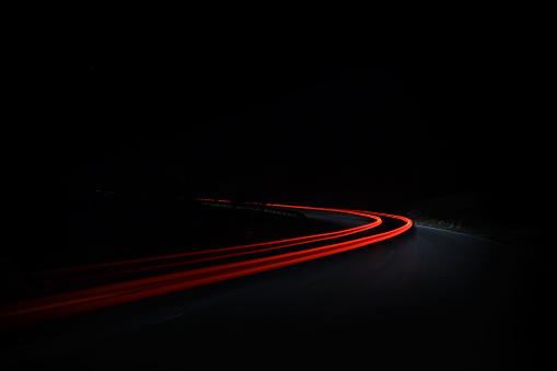 Light Trail「red ribbon」:スマホ壁紙(18)
