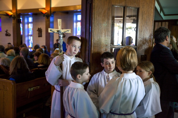 Boys「Irish Prime Minister Kenny Attends Mass In Sandy-Afflicted Section Of NYC」:写真・画像(3)[壁紙.com]