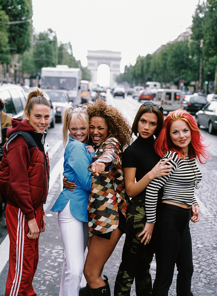 1990-1999「Spice Girls in Paris」:写真・画像(5)[壁紙.com]